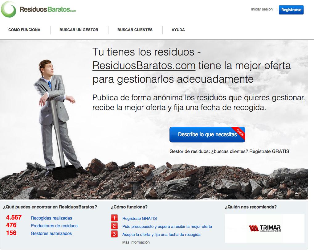 Gestores de residuos en España Residuos Baratos